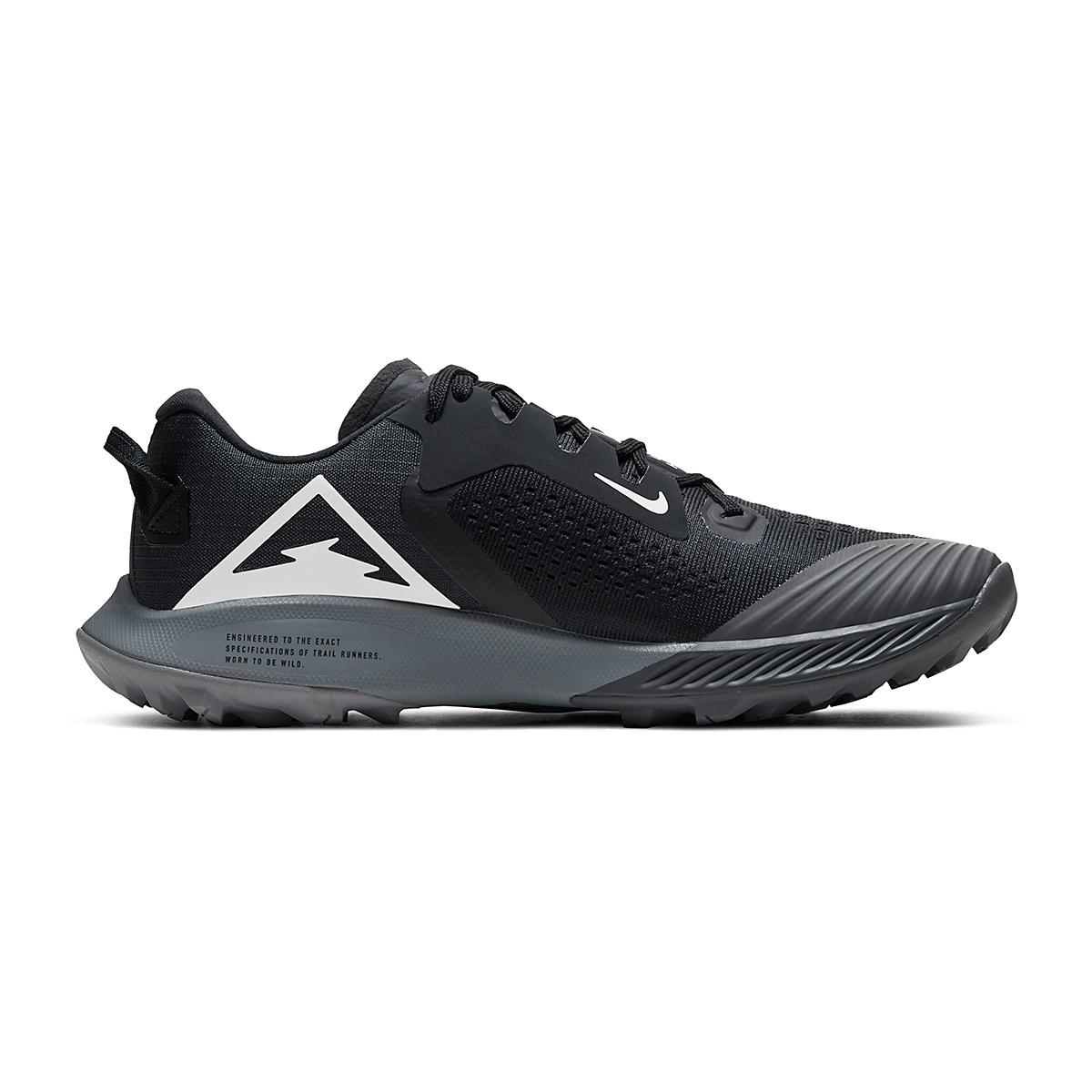 Women's Nike Air Zoom Terra Kiger 6 Trail Running Shoe - Color: Off Noir/Black/Iron Grey/Spruce Aura - Size: 5 - Width: Regular, Off Noir/Black/Iron Grey/Spruce Aura, large, image 2