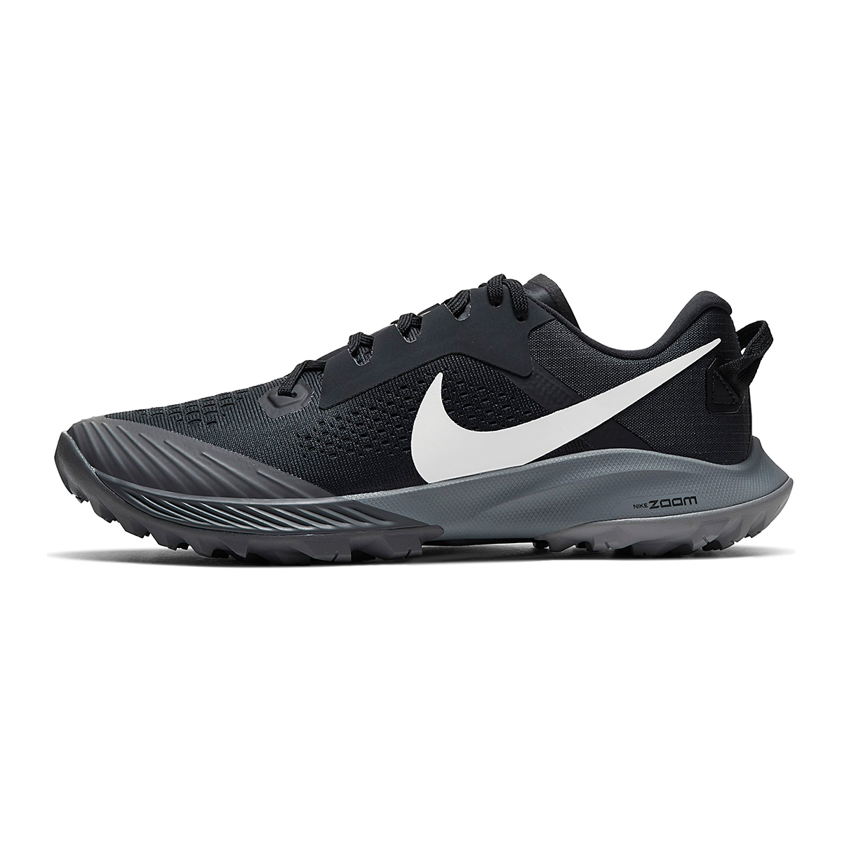 Women's Nike Air Zoom Terra Kiger 6 Trail Running Shoe - Color: Off Noir/Black/Iron Grey/Spruce Aura - Size: 5 - Width: Regular, Off Noir/Black/Iron Grey/Spruce Aura, large, image 3