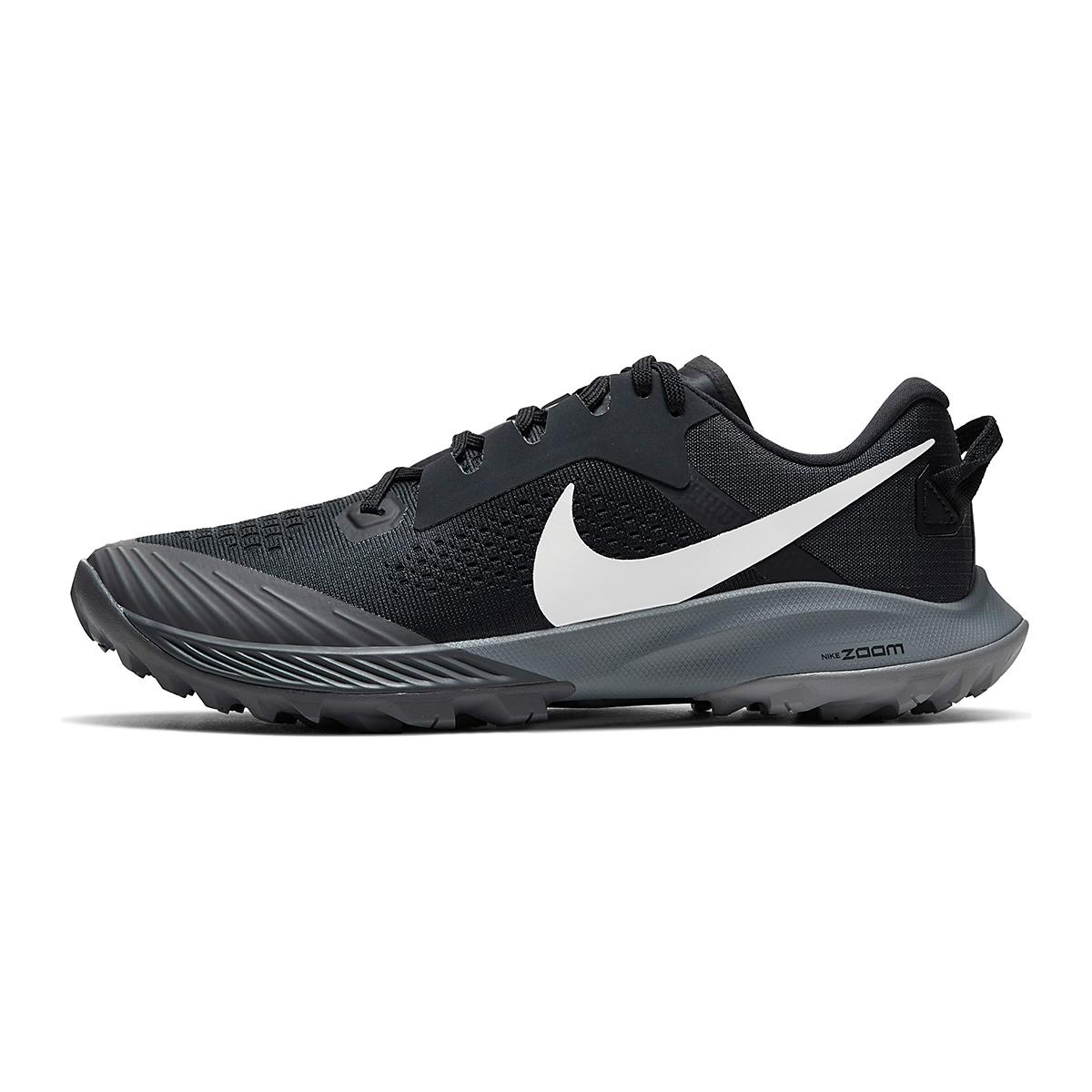 Women's Nike Air Zoom Terra Kiger 6 Trail Running Shoe - Color: Off Noir/Black/Iron Grey/Spruce Aura - Size: 5 - Width: Regular, Off Noir/Black/Iron Grey/Spruce Aura, large, image 3