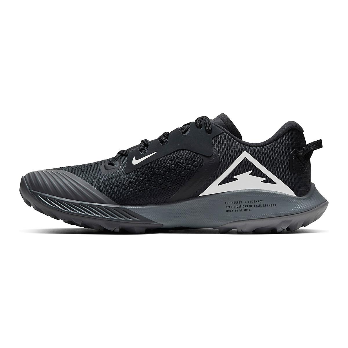 Women's Nike Air Zoom Terra Kiger 6 Trail Running Shoe - Color: Off Noir/Black/Iron Grey/Spruce Aura - Size: 5 - Width: Regular, Off Noir/Black/Iron Grey/Spruce Aura, large, image 4