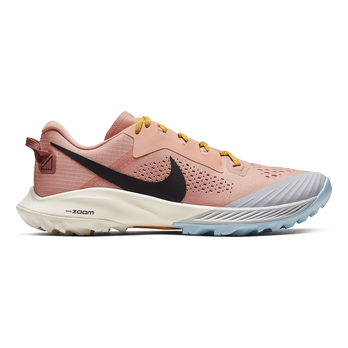 Women's Nike Air Zoom Terra Kiger 6 Trail Running Shoe - Color: Pink Quartz/Canyon Pink/Sky Grey/Burgundy Ash (Regular Width) - Size: 5, Pink Quartz/Canyon Pink/Sky Grey/Burgundy Ash, large, image 1