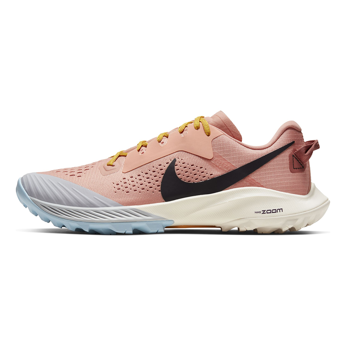 Women's Nike Air Zoom Terra Kiger 6 Trail Running Shoe - Color: Pink Quartz/Canyon Pink/Sky Grey/Burgundy Ash (Regular Width) - Size: 5, Pink Quartz/Canyon Pink/Sky Grey/Burgundy Ash, large, image 2