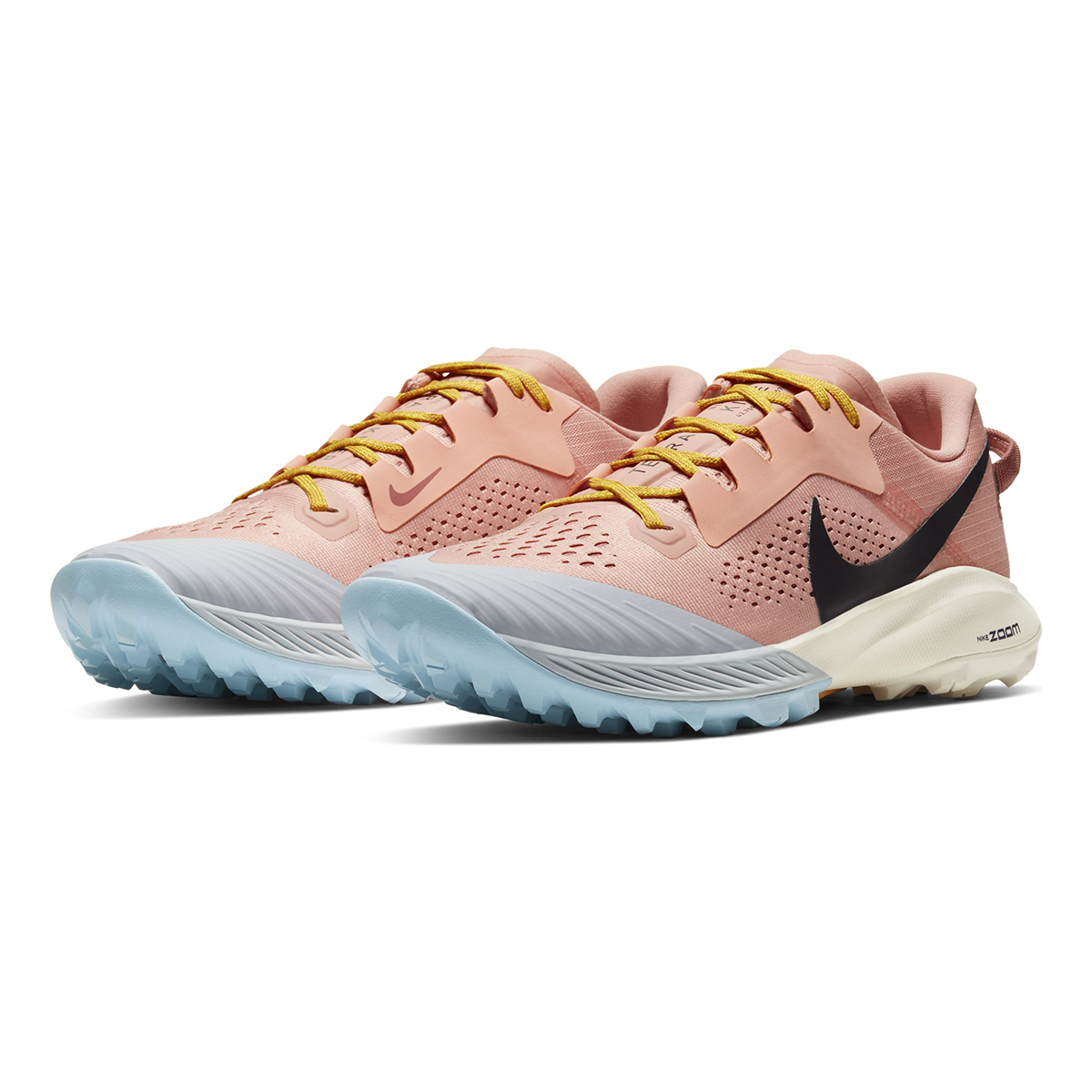 Women's Nike Air Zoom Terra Kiger 6 Trail Running Shoe - Color: Pink Quartz/Canyon Pink/Sky Grey/Burgundy Ash (Regular Width) - Size: 5, Pink Quartz/Canyon Pink/Sky Grey/Burgundy Ash, large, image 4