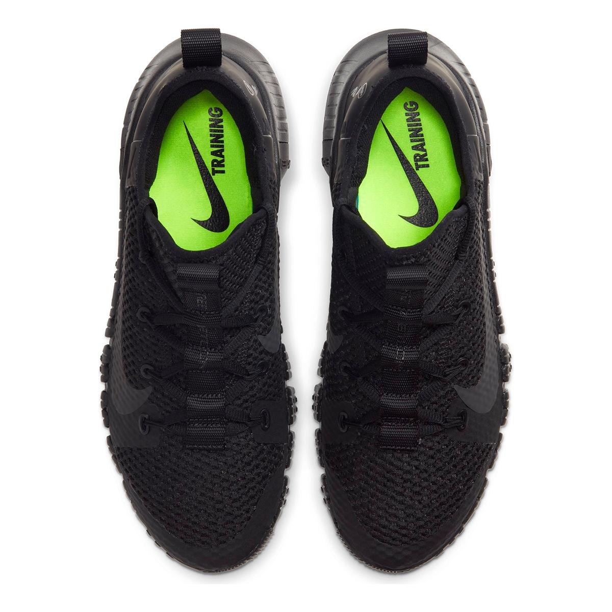 Nike Free Metcon 3 Training Shoes - Color: Black/Black/Volt/Anthracite - Size: 5 - Width: Regular, Black/Volt/Anthracite, large, image 7