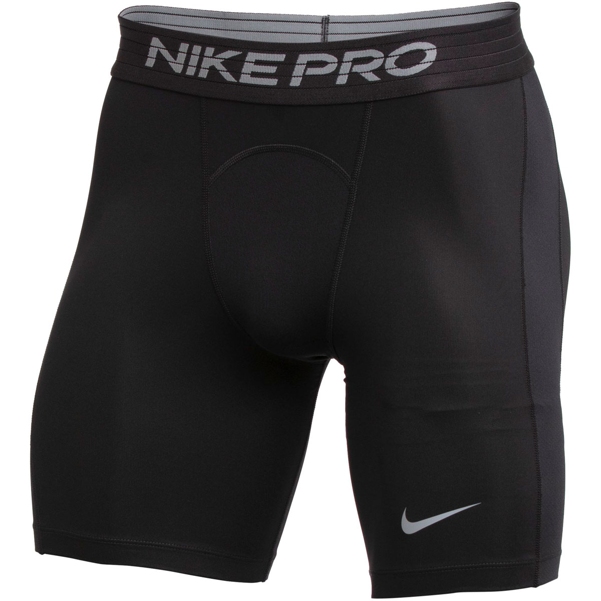 Men's Nike Pro Shorts - Color: Black/Cool Grey - Size: LT, Black/Cool Grey, large, image 1