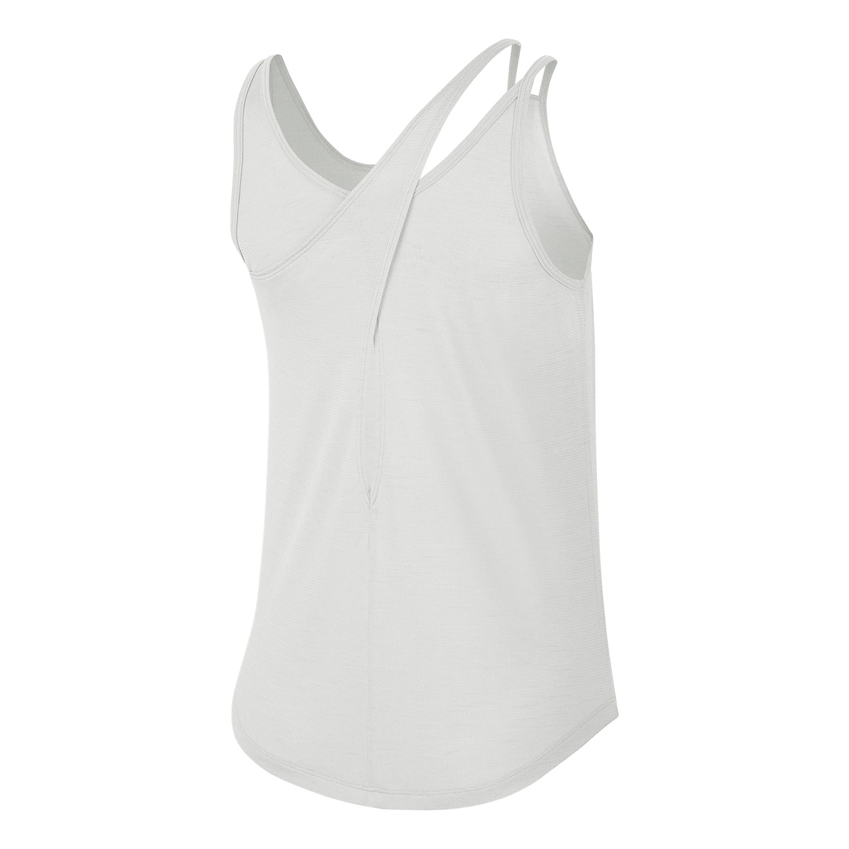Women's Nike Runway Tank - Color: Platinum - Size: XS, Platinum, large, image 2