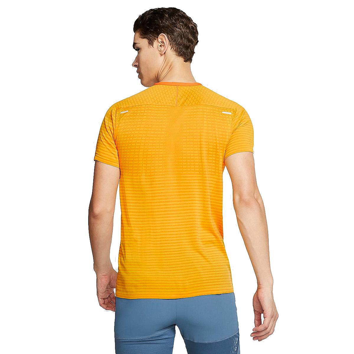 Men's Nike Techknit Ultra Short Sleeve  - Color: University Gold - Size: S, University Gold, large, image 2