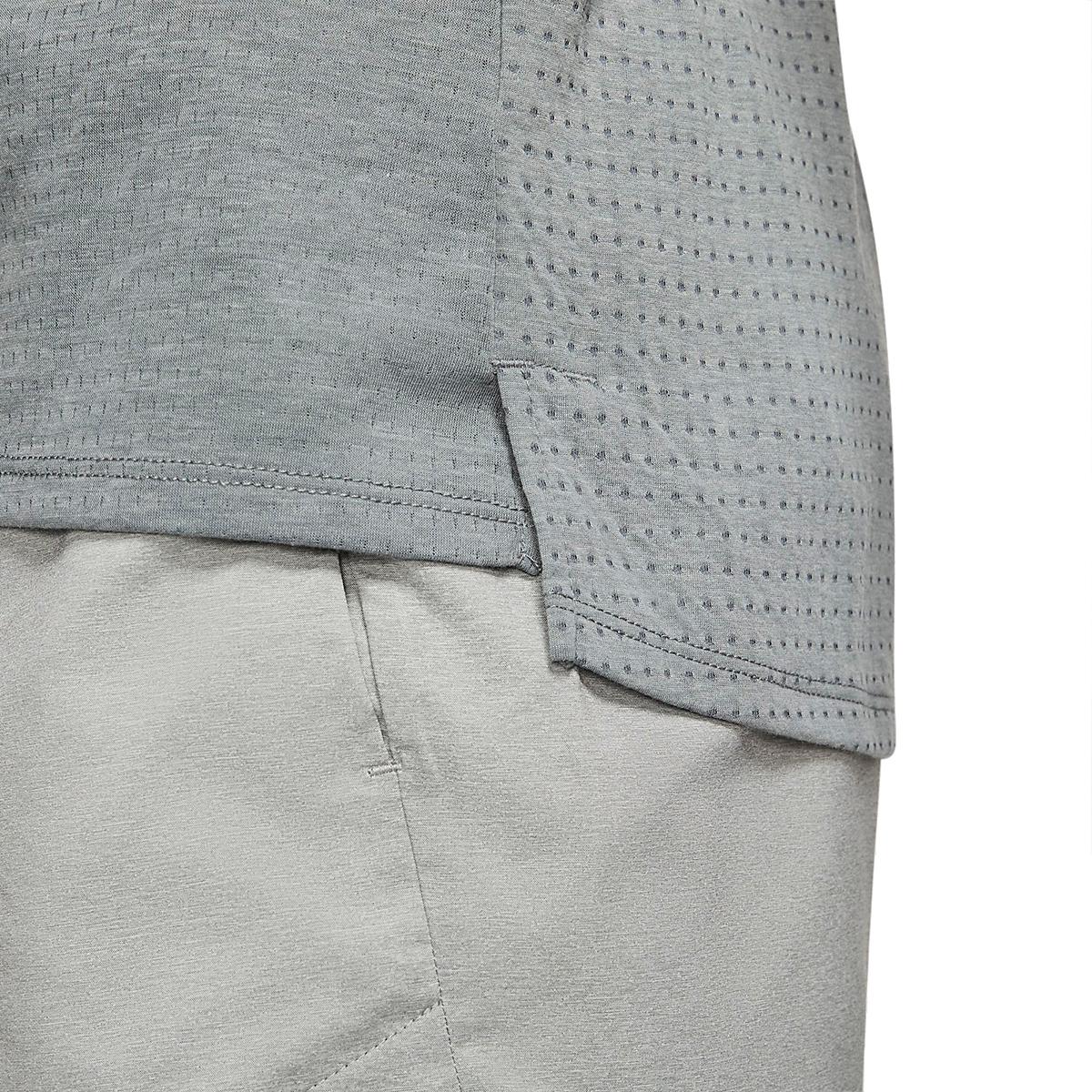 Men's Nike Rise 365 Running Tank - Color: Smoke Grey/Heather - Size: S, Smoke Grey/Heather, large, image 4