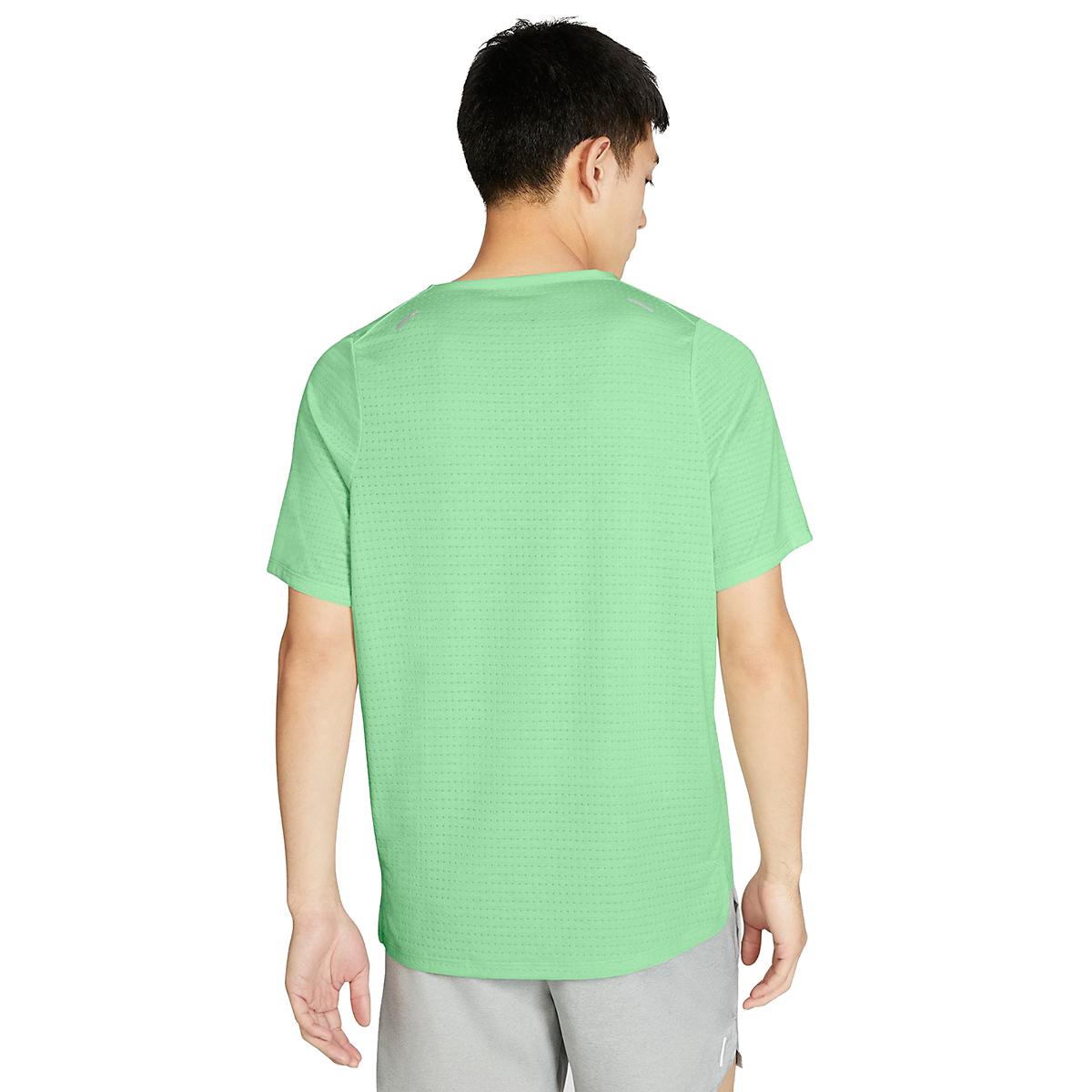 Men's Nike Rise 365 Short Sleeve  - Color: Cucumber Calm - Size: S, Cucumber Calm, large, image 2
