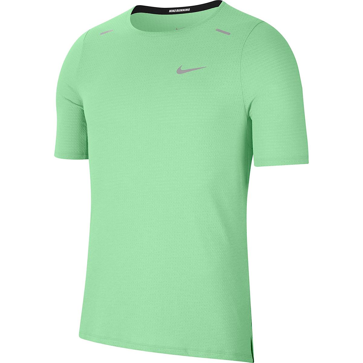 Men's Nike Rise 365 Short Sleeve  - Color: Cucumber Calm - Size: S, Cucumber Calm, large, image 3