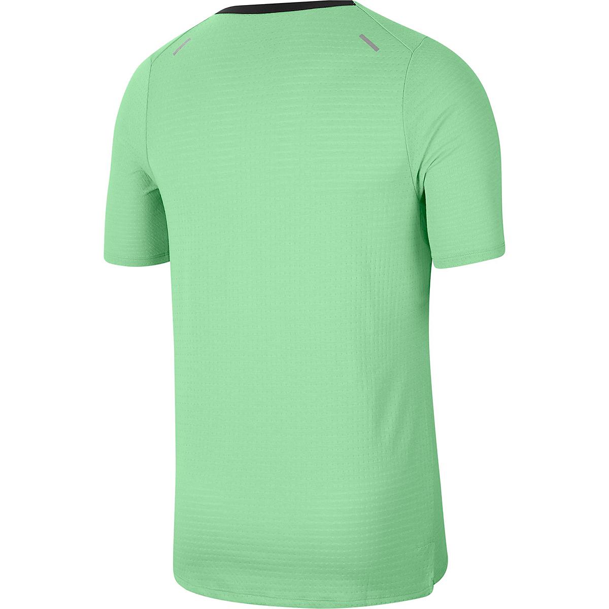Men's Nike Rise 365 Short Sleeve  - Color: Cucumber Calm - Size: S, Cucumber Calm, large, image 4