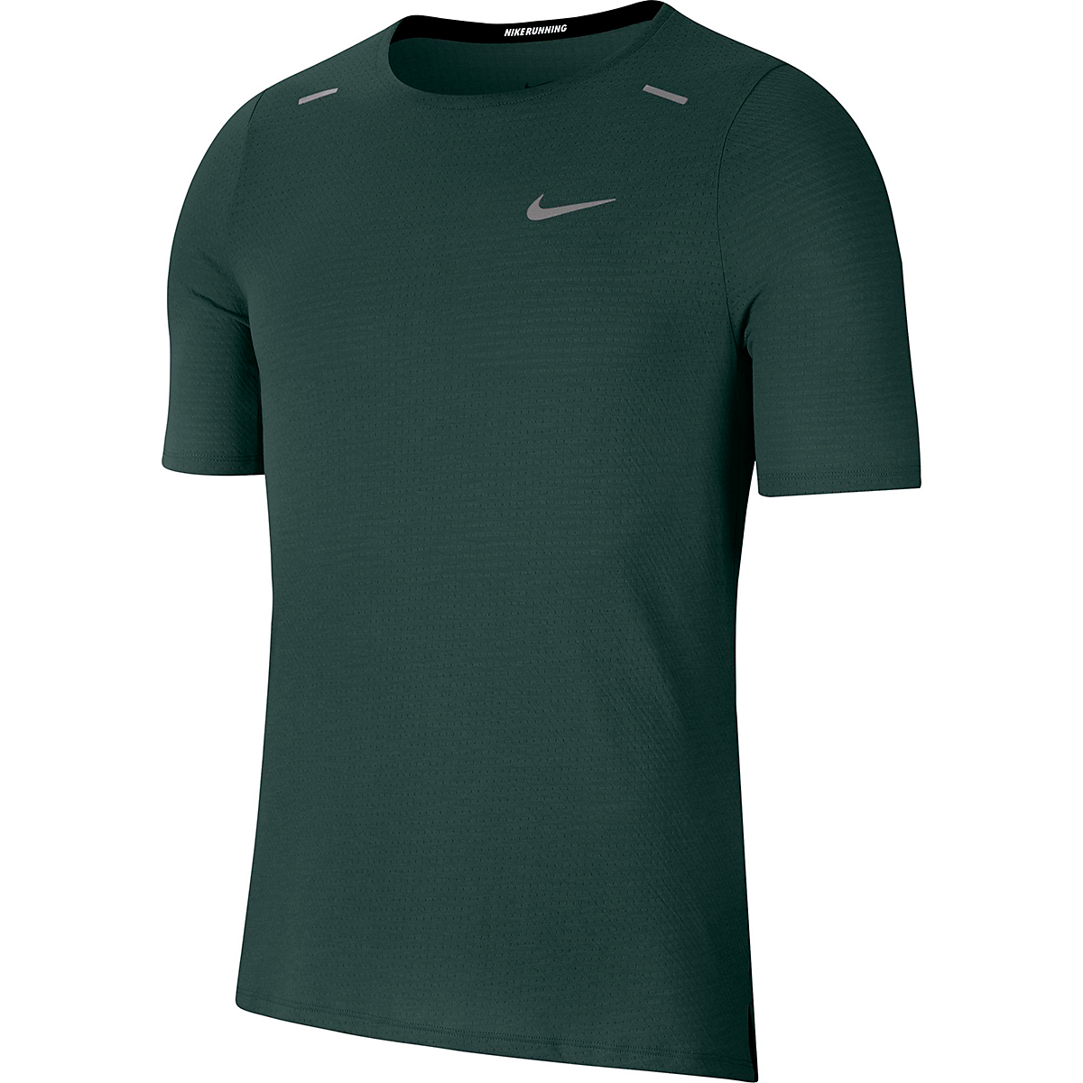 Men's Nike Rise 365 Running Top - Color: Pro Green - Size: S, Pro Green, large, image 1