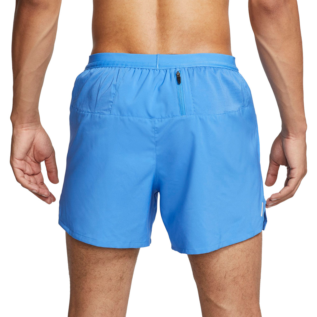 """Men's Nike Flex Stride 5"""" Brief Running Shorts - Color: Pacific Blue/Reflective Silver - Size: S, Pacific Blue/Reflective Silver, large, image 2"""