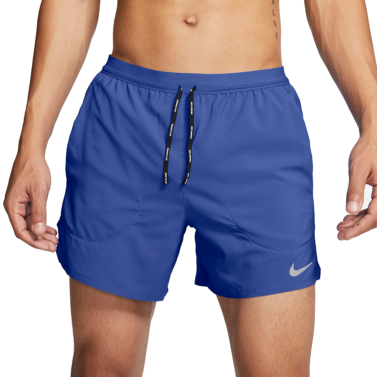 """Men's Nike Flex Stride 5"""" Brief Running Shorts - Color: Astronomy Blue - Size: S, Astronomy Blue, large, image 1"""