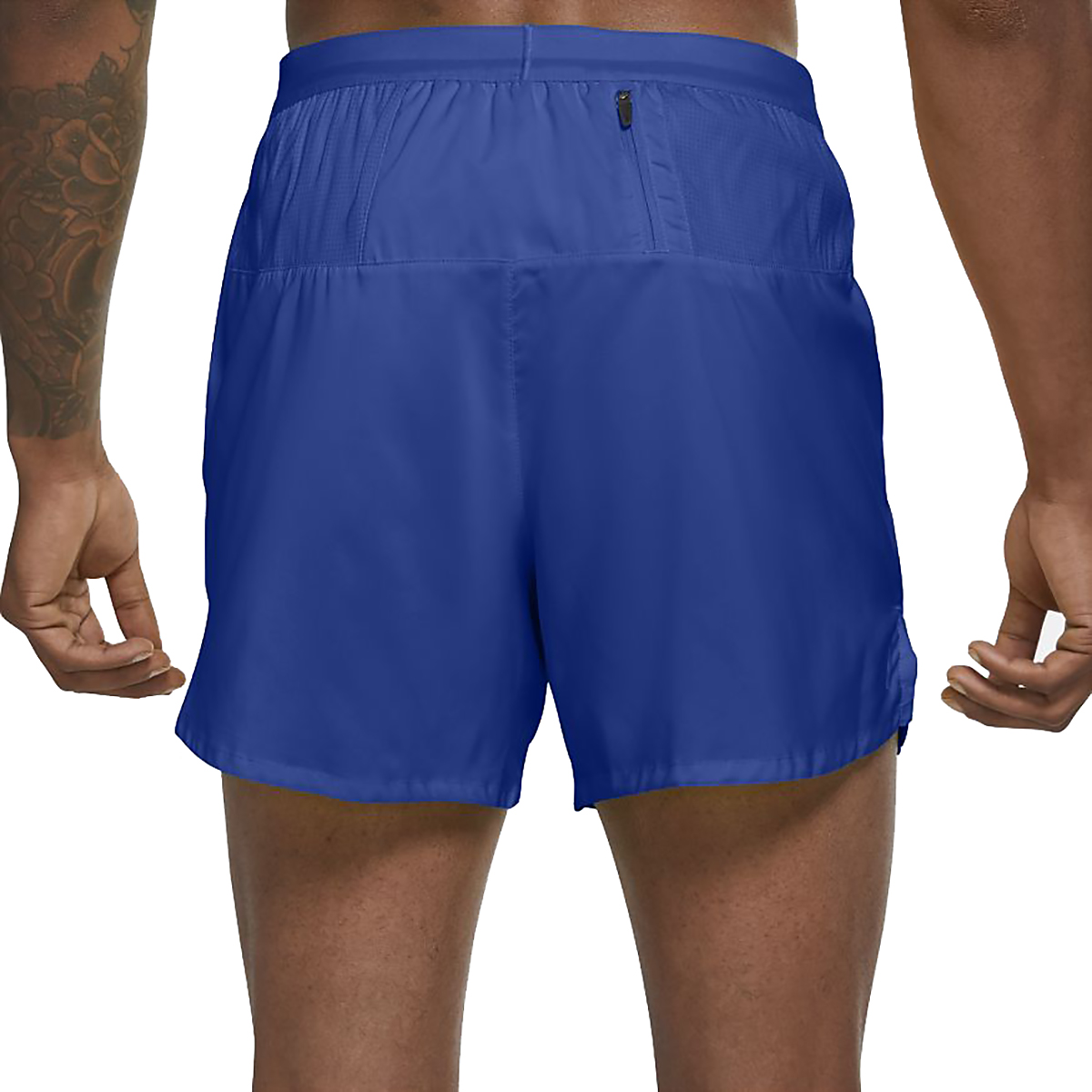 """Men's Nike Flex Stride 5"""" Brief Running Shorts - Color: Game Royal/Reflective Silver - Size: S, Game Royal/Reflective Silver, large, image 2"""