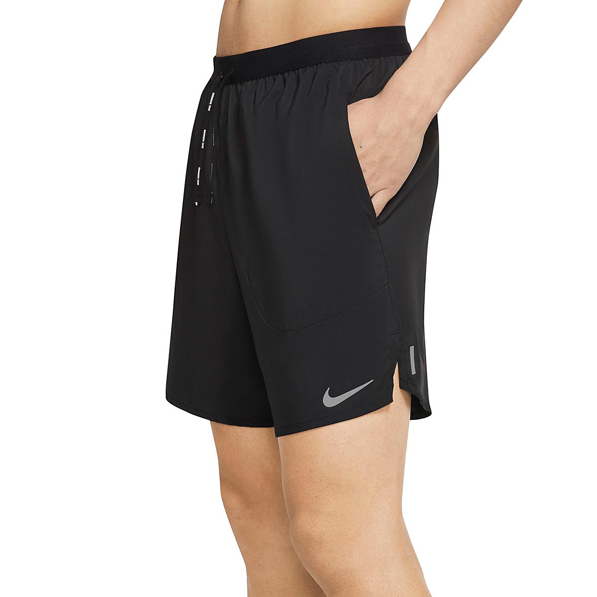"""Men's Nike Flex Stride 7"""" Brief Running Shorts - Color: Black - Size: S, Black, large, image 2"""