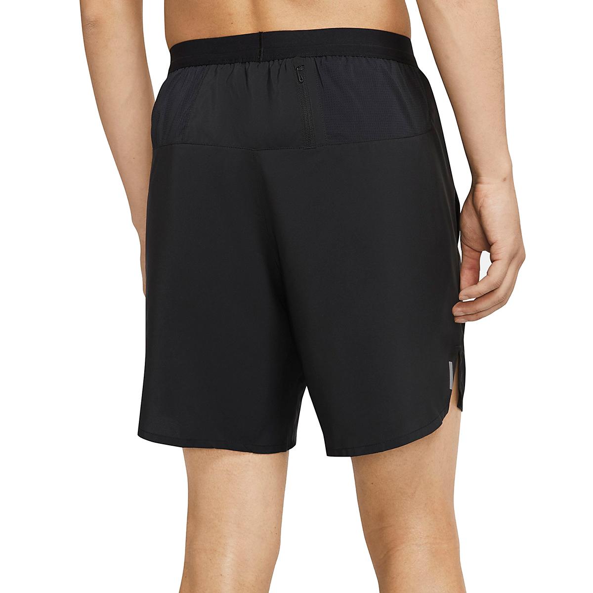 """Men's Nike Flex Stride 7"""" Brief Running Shorts - Color: Black - Size: S, Black, large, image 3"""