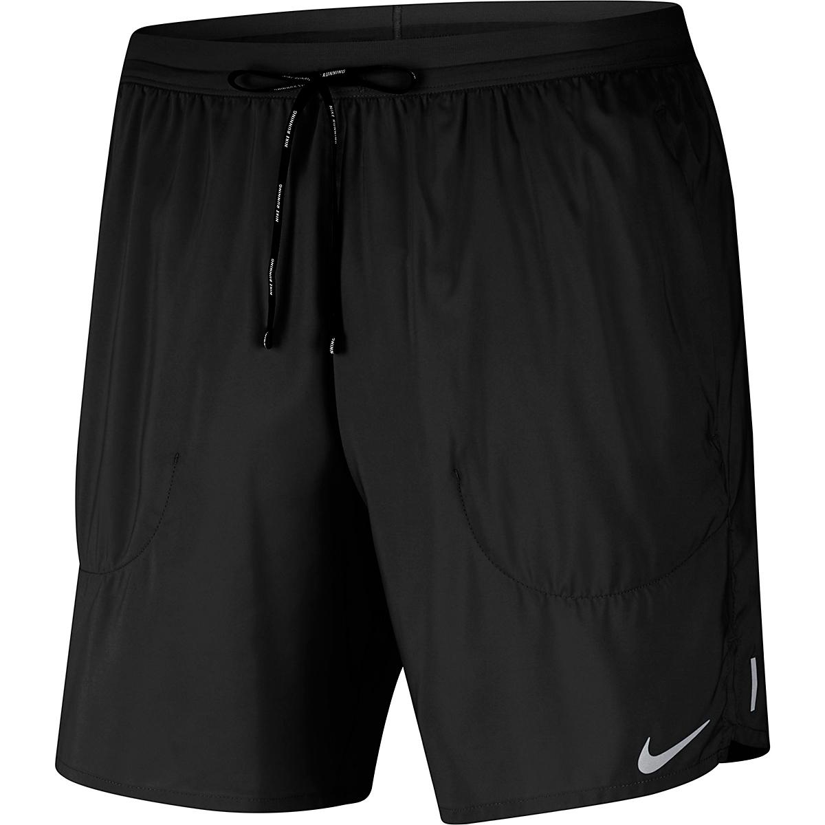 """Men's Nike Flex Stride 7"""" Brief Running Shorts - Color: Black - Size: S, Black, large, image 5"""