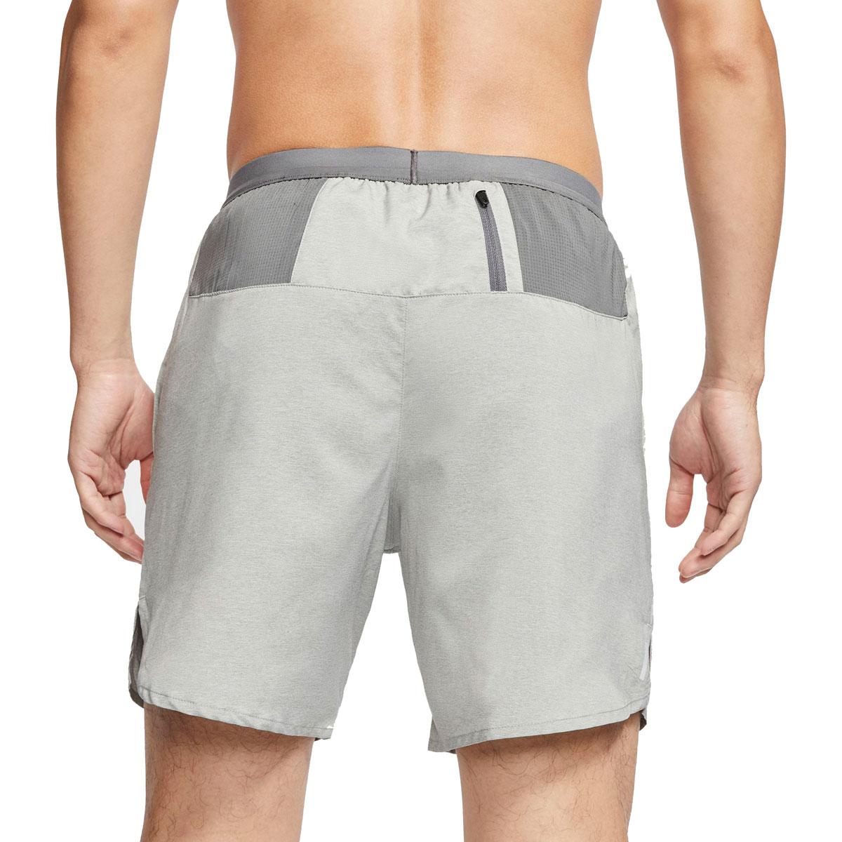 "Men's Nike Flex Stride 7"" Brief Running Shorts - Color: Iron Grey/Heather/Reflective Silver - Size: S, Iron Grey/Heather/Reflective Silver, large, image 2"