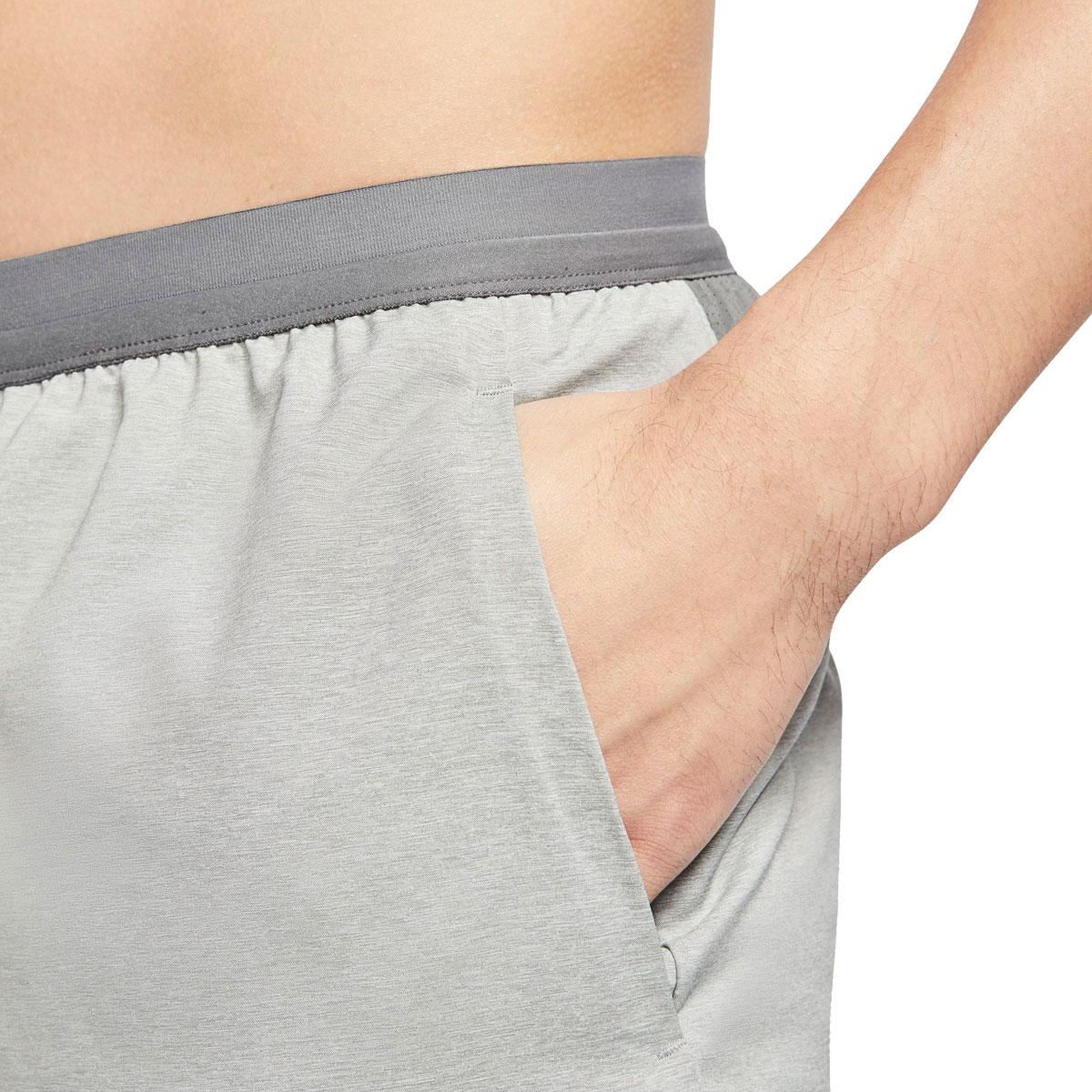 "Men's Nike Flex Stride 7"" Brief Running Shorts - Color: Iron Grey/Heather/Reflective Silver - Size: S, Iron Grey/Heather/Reflective Silver, large, image 3"