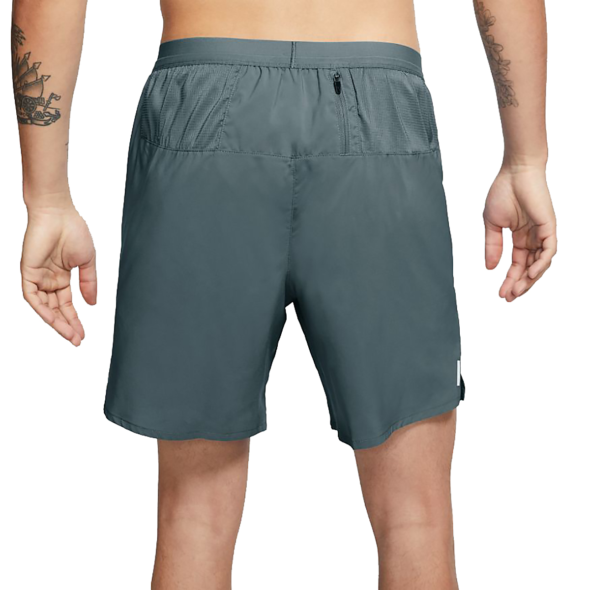 """Men's Nike Flex Stride 7"""" Brief Running Shorts - Color: Hasta/Reflective Silver - Size: XS, Hasta/Reflective Silver, large, image 2"""