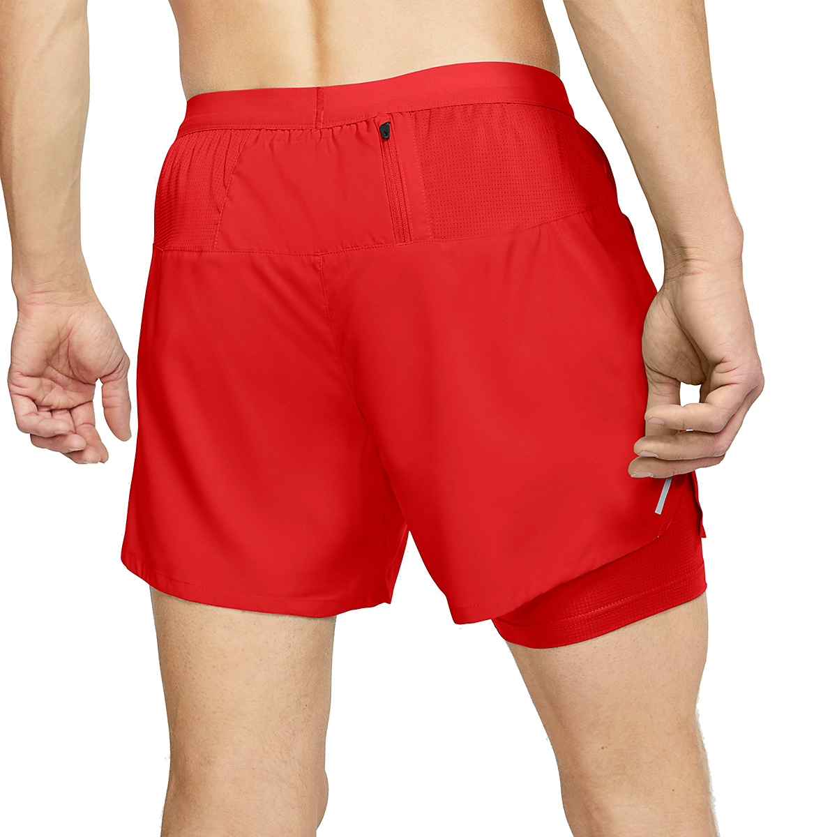 """Men's Nike Flex Stride 5"""" 2-In-1 Running Shorts - Color: Chile Red - Size: L, Chile Red, large, image 3"""