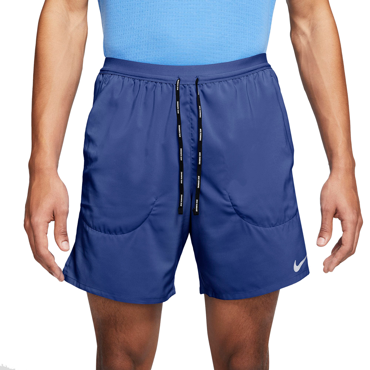 """Men's Nike Flex Stride 7"""" 2-In-1 Running Shorts - Color: Astronomy Blue/Royal Pulse - Size: M, Astronomy Blue/Royal Pulse, large, image 1"""