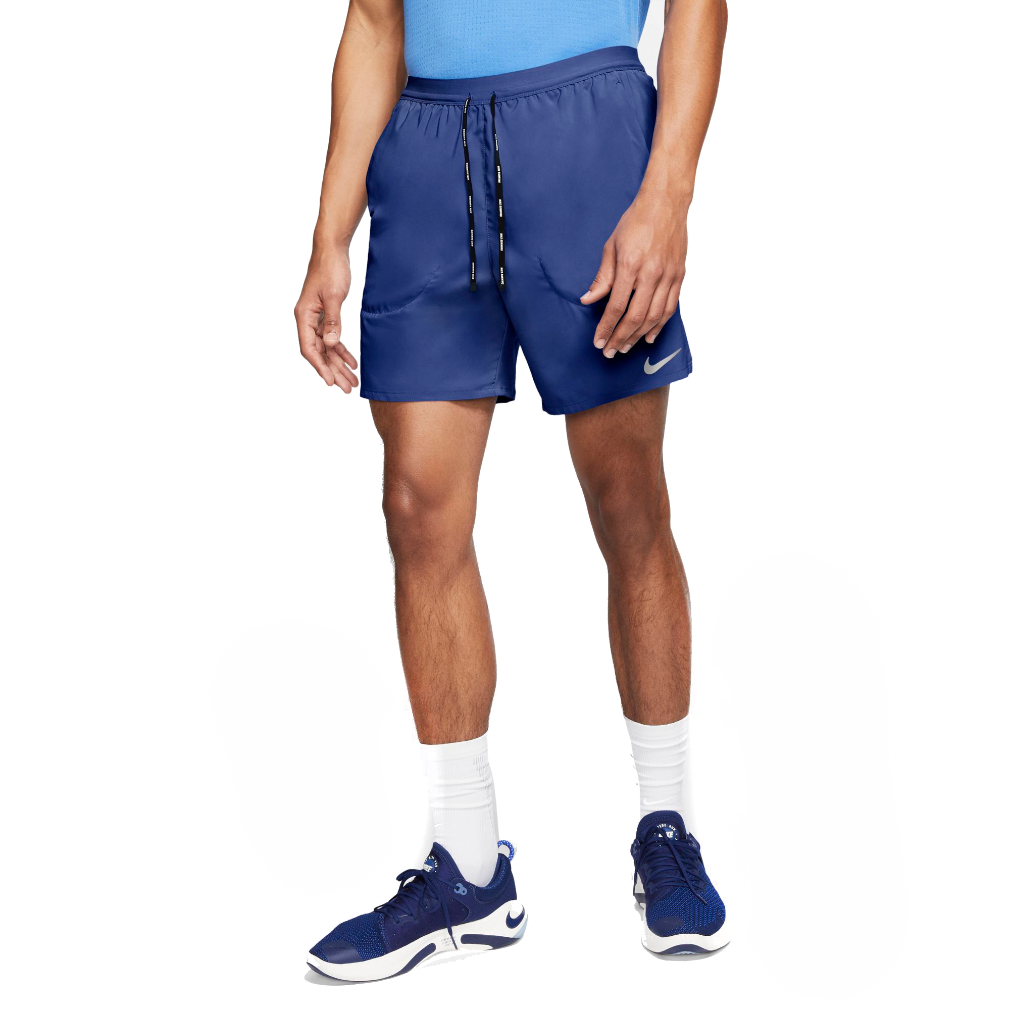 """Men's Nike Flex Stride 7"""" 2-In-1 Running Shorts - Color: Astronomy Blue/Royal Pulse - Size: M, Astronomy Blue/Royal Pulse, large, image 3"""