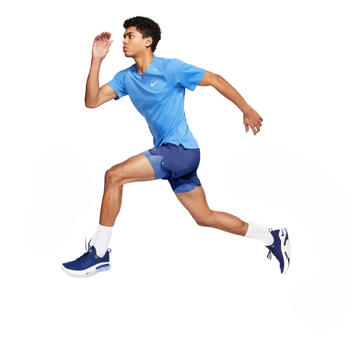 """Men's Nike Flex Stride 7"""" 2-In-1 Running Shorts - Color: Astronomy Blue/Royal Pulse - Size: M, Astronomy Blue/Royal Pulse, large, image 4"""