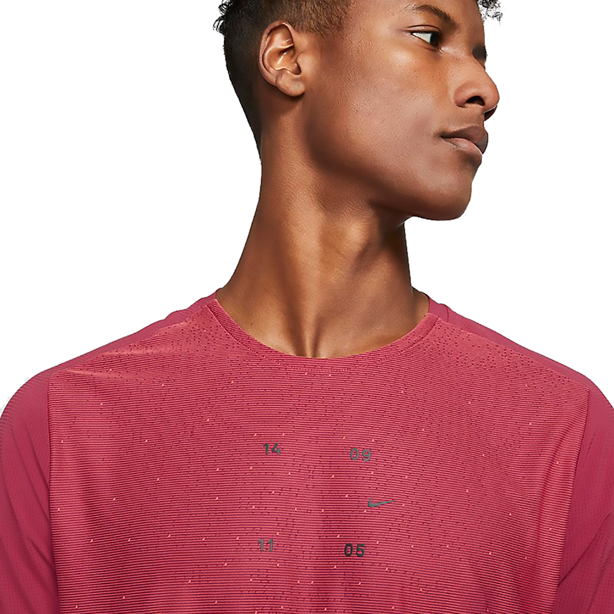 Men's Nike Tech Pack Top Hybrid Short Sleeve  - Color: Red - Size: S, Red, large, image 3