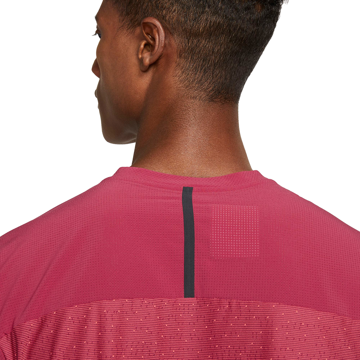 Men's Nike Tech Pack Top Hybrid Short Sleeve  - Color: Red - Size: S, Red, large, image 4