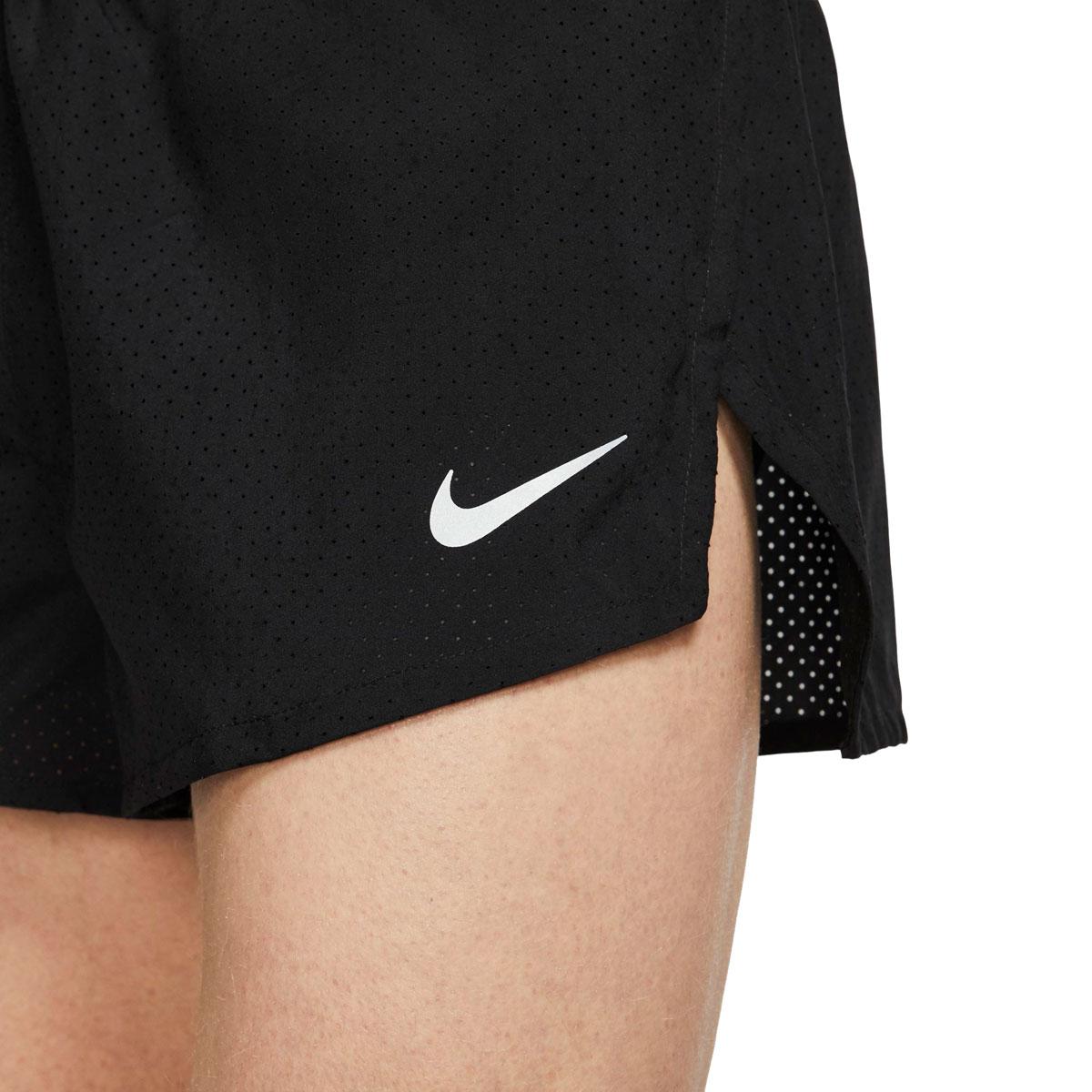 "Men's Nike Fast 2"" Running Shorts - Color: Black/Reflective Silver - Size: S, Black/Reflective Silver, large, image 3"