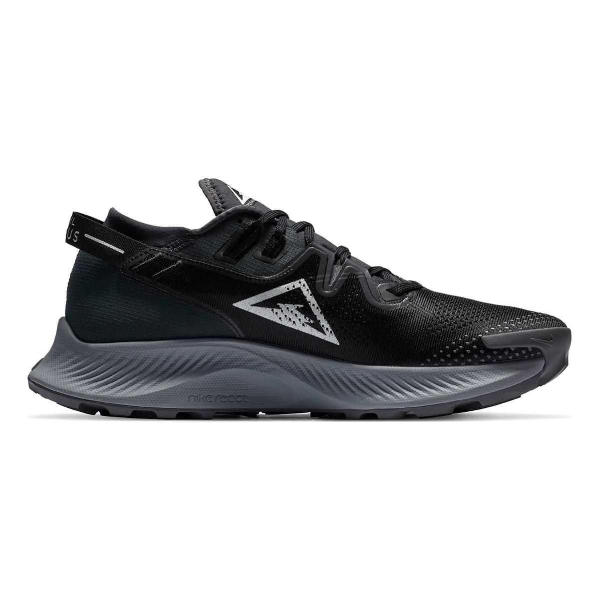 Men's Nike Pegasus Trail 2 Trail Running Shoe - Color: Black/Dark Smoke Grey/Particle Grey/Spruce Aura - Size: 6 - Width: Regular, Black/Dark Smoke Grey/Particle Grey/Spruce Aura, large, image 2