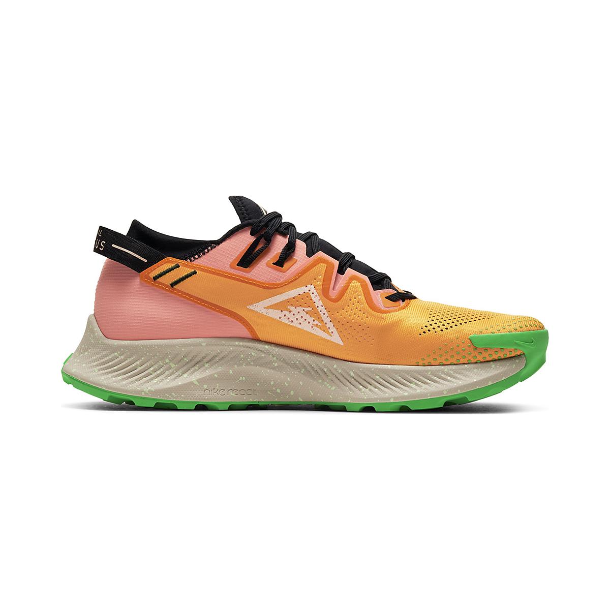 Men's Nike Pegasus Trail 2 Trail Running Shoe - Color: Kumquat/Crimson - Size: 6 - Width: Regular, Kumquat/Crimson, large, image 1