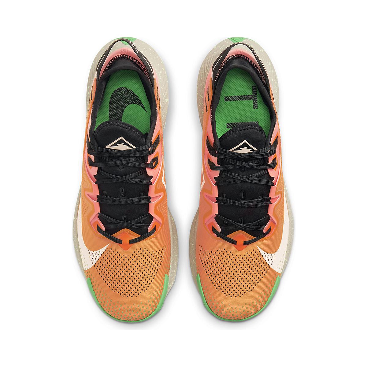 Men's Nike Pegasus Trail 2 Trail Running Shoe - Color: Kumquat/Crimson - Size: 6 - Width: Regular, Kumquat/Crimson, large, image 4
