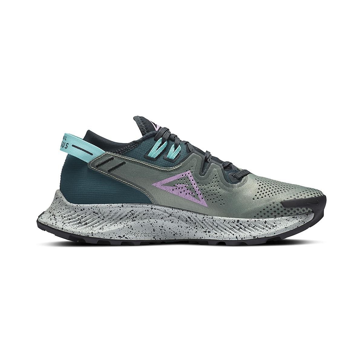 Women's Nike Pegasus Trail 2 Trail Running Shoe - Color: Seaweed/Beyond - Size: 5 - Width: Regular, Seaweed/Beyond, large, image 1