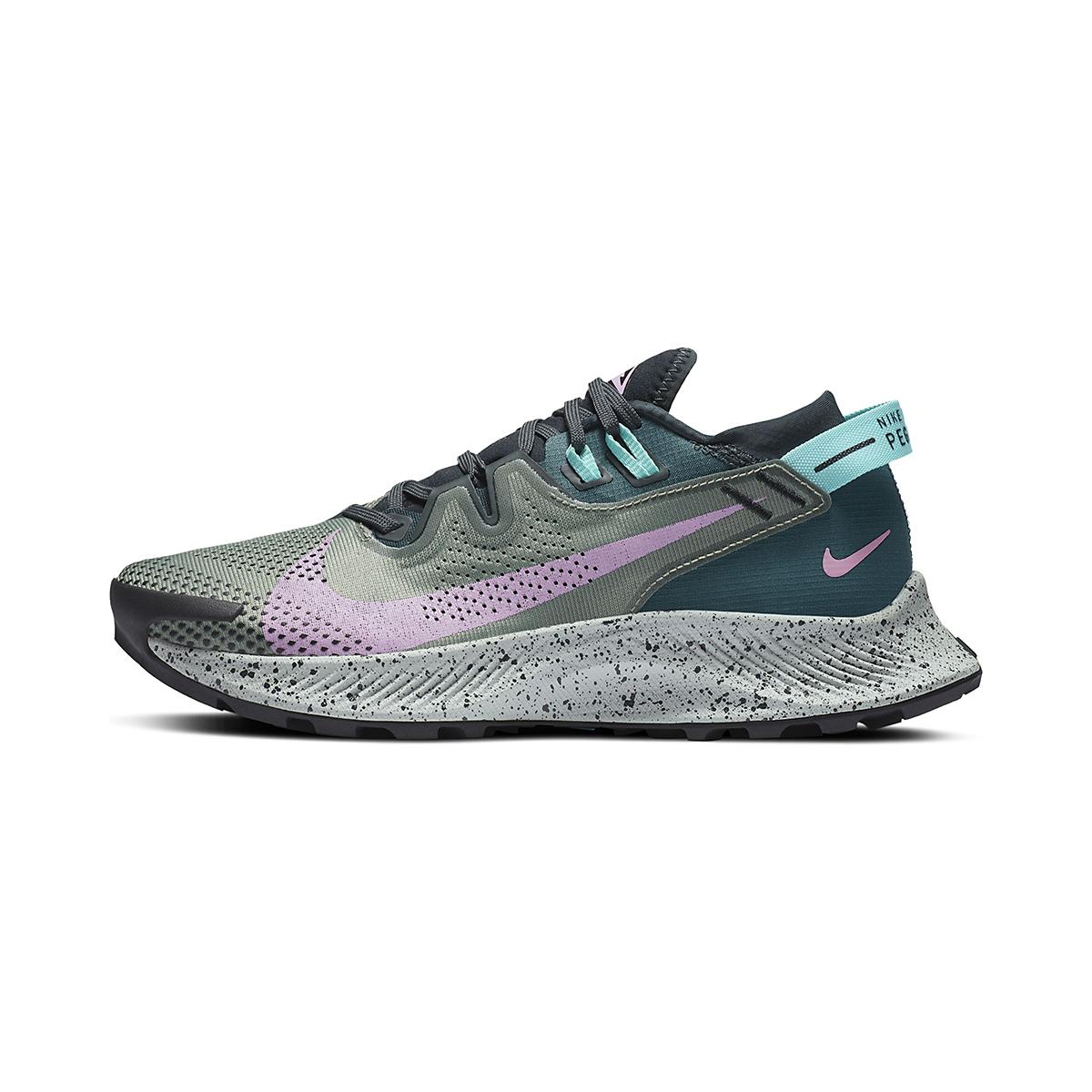 Women's Nike Pegasus Trail 2 Trail Running Shoe - Color: Seaweed/Beyond - Size: 5 - Width: Regular, Seaweed/Beyond, large, image 2