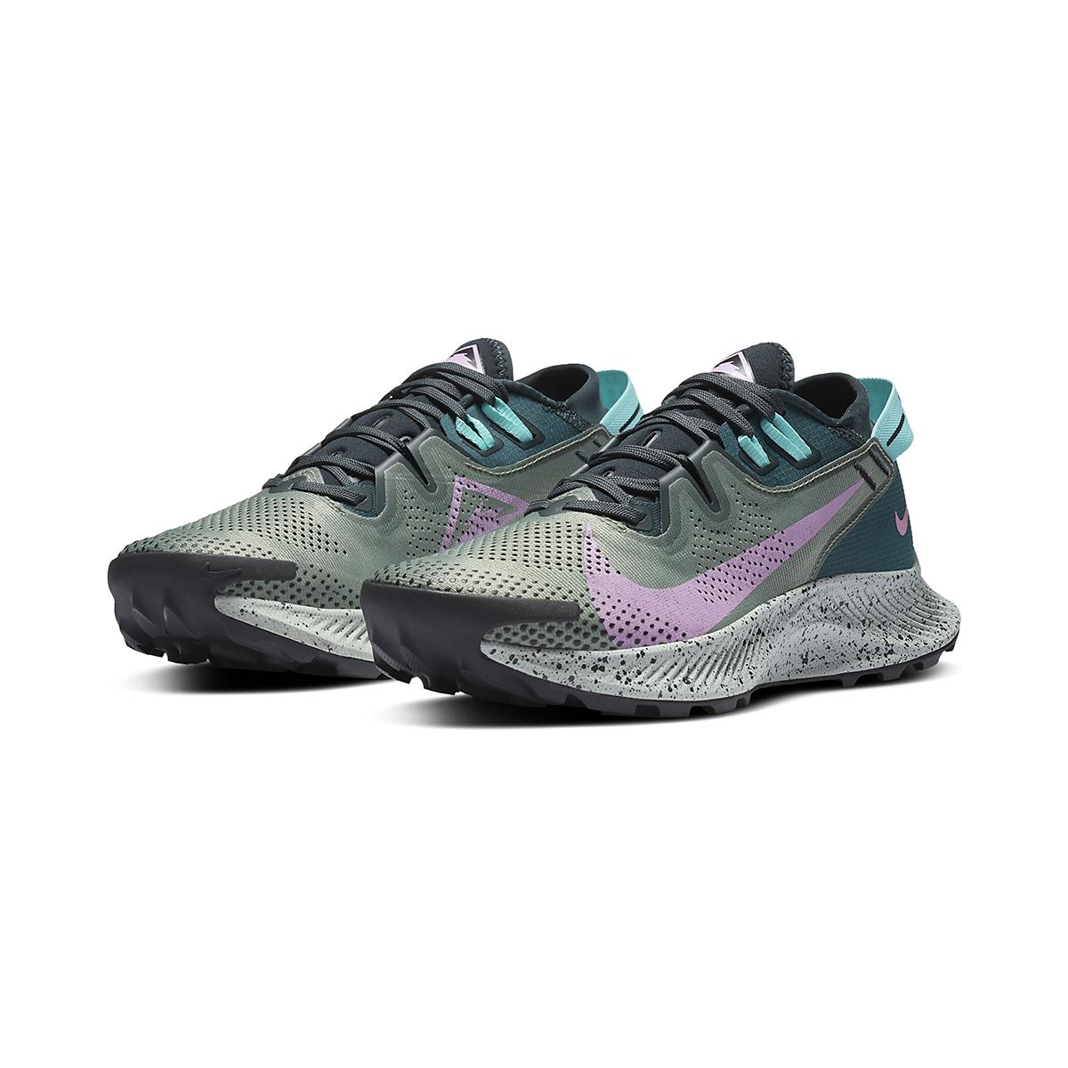 Women's Nike Pegasus Trail 2 Trail Running Shoe - Color: Seaweed/Beyond - Size: 5 - Width: Regular, Seaweed/Beyond, large, image 3