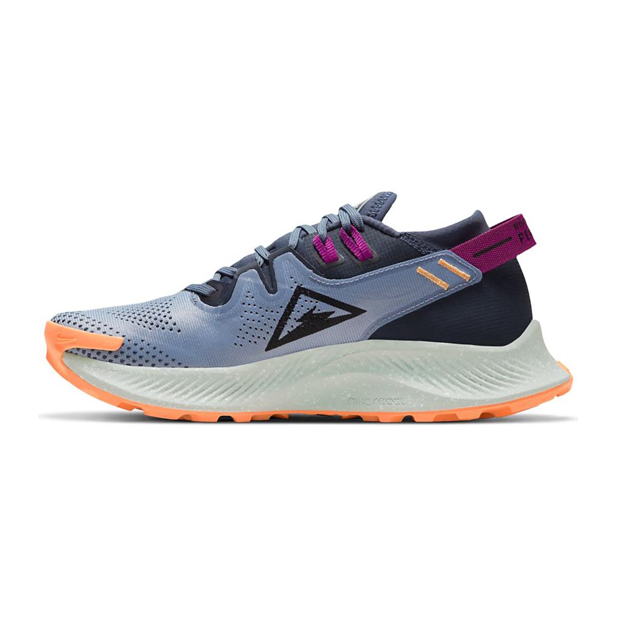 Women's Nike Nike Pegasus Trail 2 Trail Running Shoe - Color: Thunder Blue/Photon Dust/Ashen Slate - Size: 5 - Width: Regular, Thunder Blue/Photon Dust/Ashen Slate, large, image 2