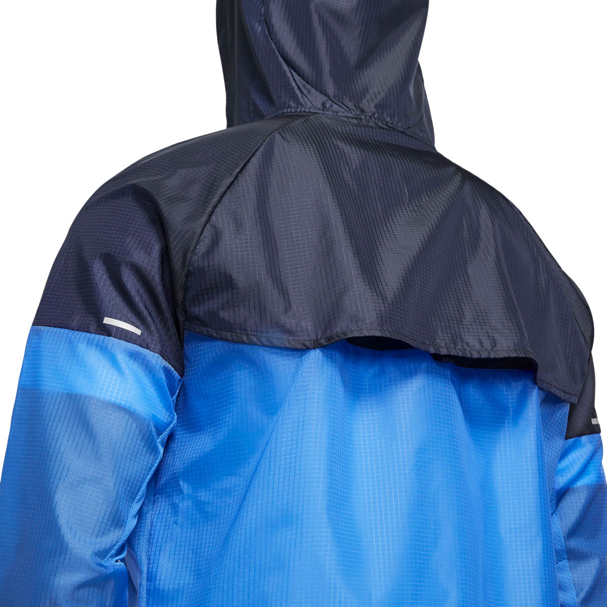 Men's Nike Windrunner Running Jacket - Color: Pacific Blue/Obsidian/Reflective Silver - Size: S, Pacific Blue/Obsidian/Reflective Silver, large, image 3