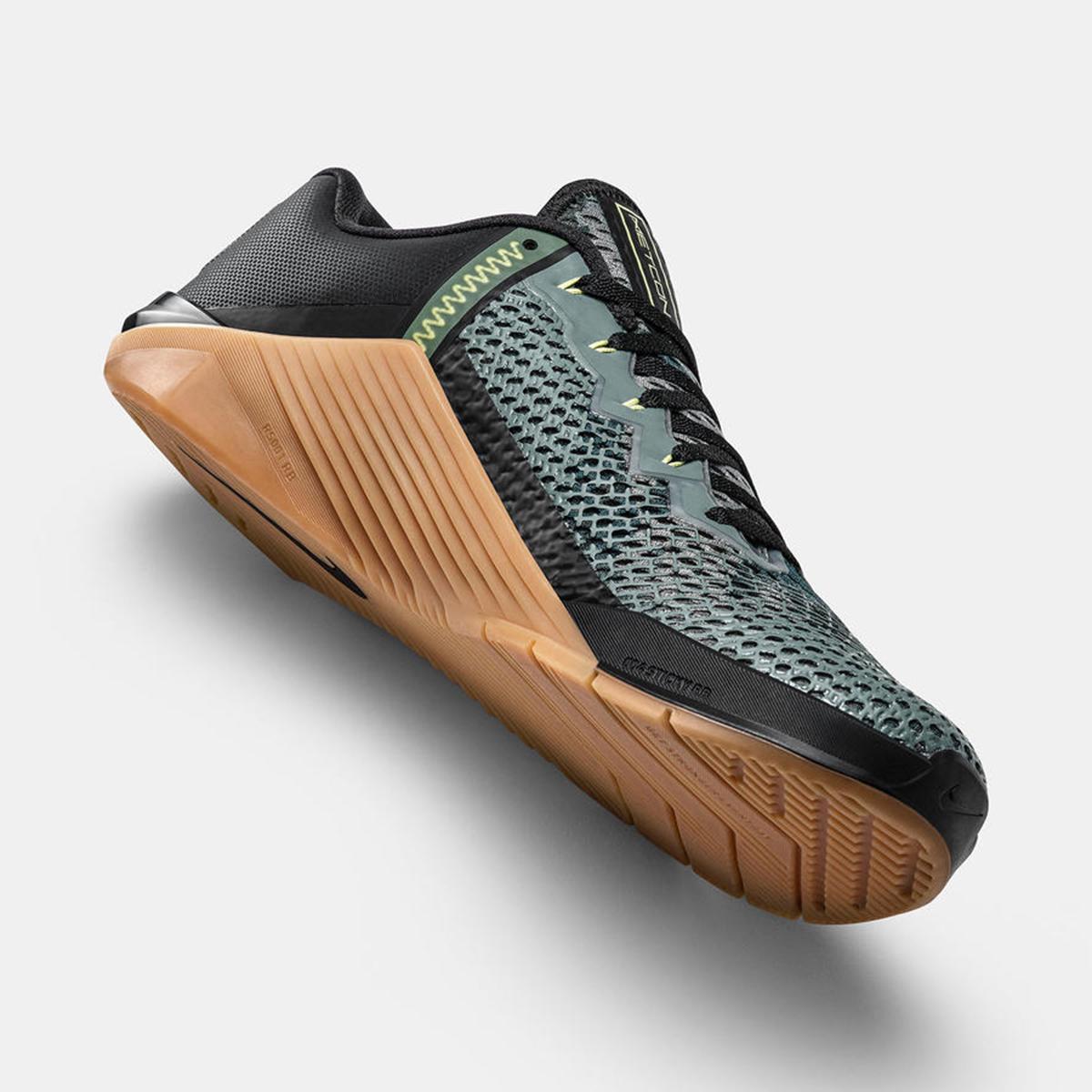 Men's Nike Metcon 6 Training Shoes - Color: Valerian Blue - Size: 3.5 - Width: Regular, Valerian Blue, large, image 5