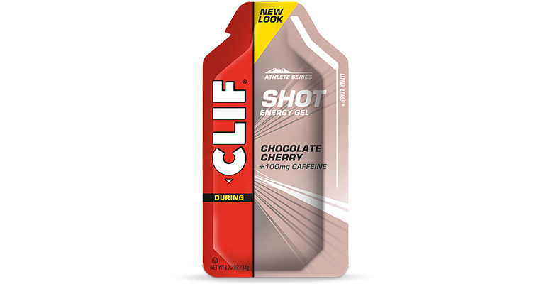 Clif Shot Energy Gel - Flavor: Chocolate Cherry - Size: Box of 24, Chocolate Cherry, large, image 1