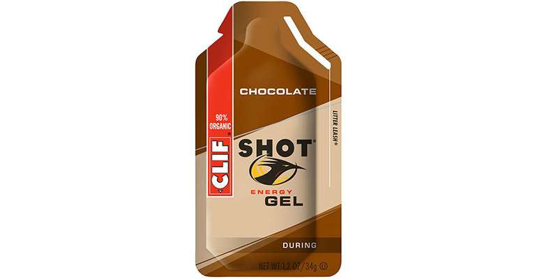 Clif Shot Energy Gel - Flavor: Chocolate - Size: Box of 24, Chocolate, large, image 1