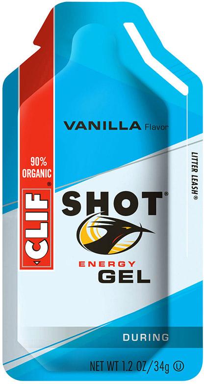 Clif Shot Energy Gel - Flavor: Vanilla - Size: Box of 24, Vanilla, large, image 1