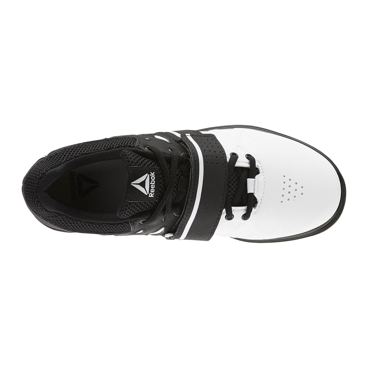 Reebok Lifter PR Training Shoes - Color: White/Black (Regular Width) - Size: 6.5, White/Black, large, image 3