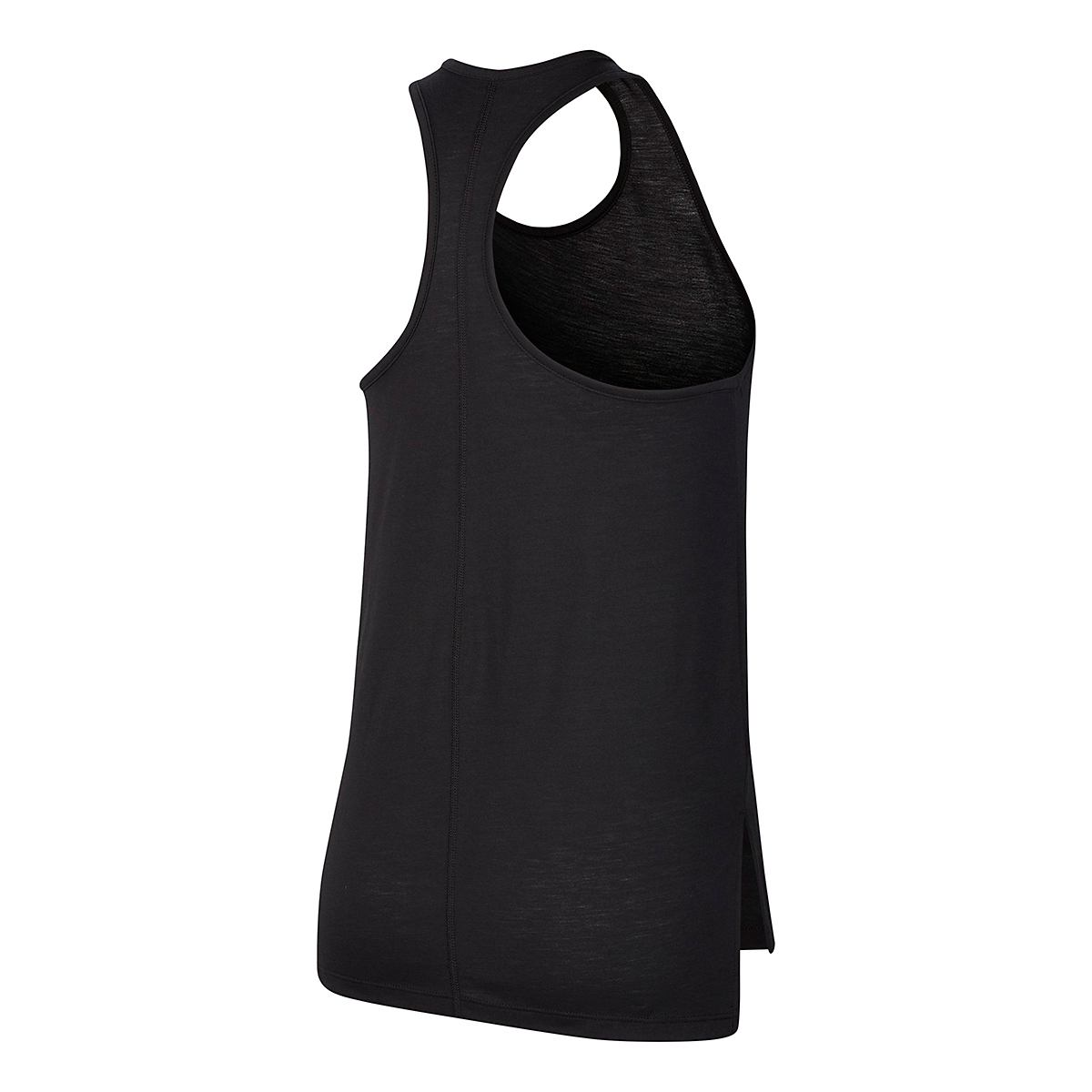 Women's Nike Yoga Layer Tank - Color: Black/Dark Smoke Grey - Size: XS, Black/Dark Smoke Grey, large, image 3