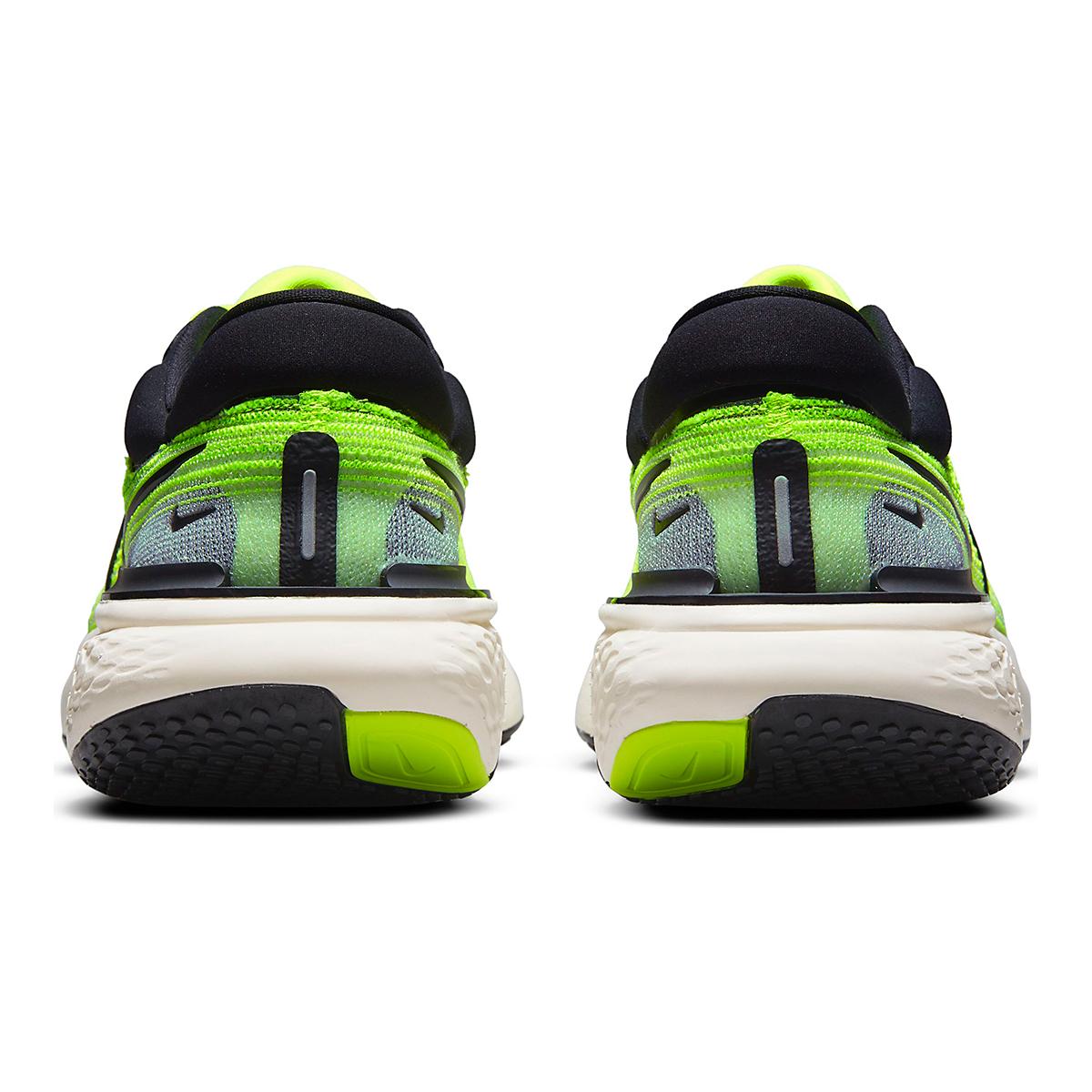 Men's Nike Zoomx Invincible Run FlyKnit Running Shoe - Color: Volt/Black/Barely Volt - Size: 6 - Width: Regular, Volt/Black/Barely Volt, large, image 5