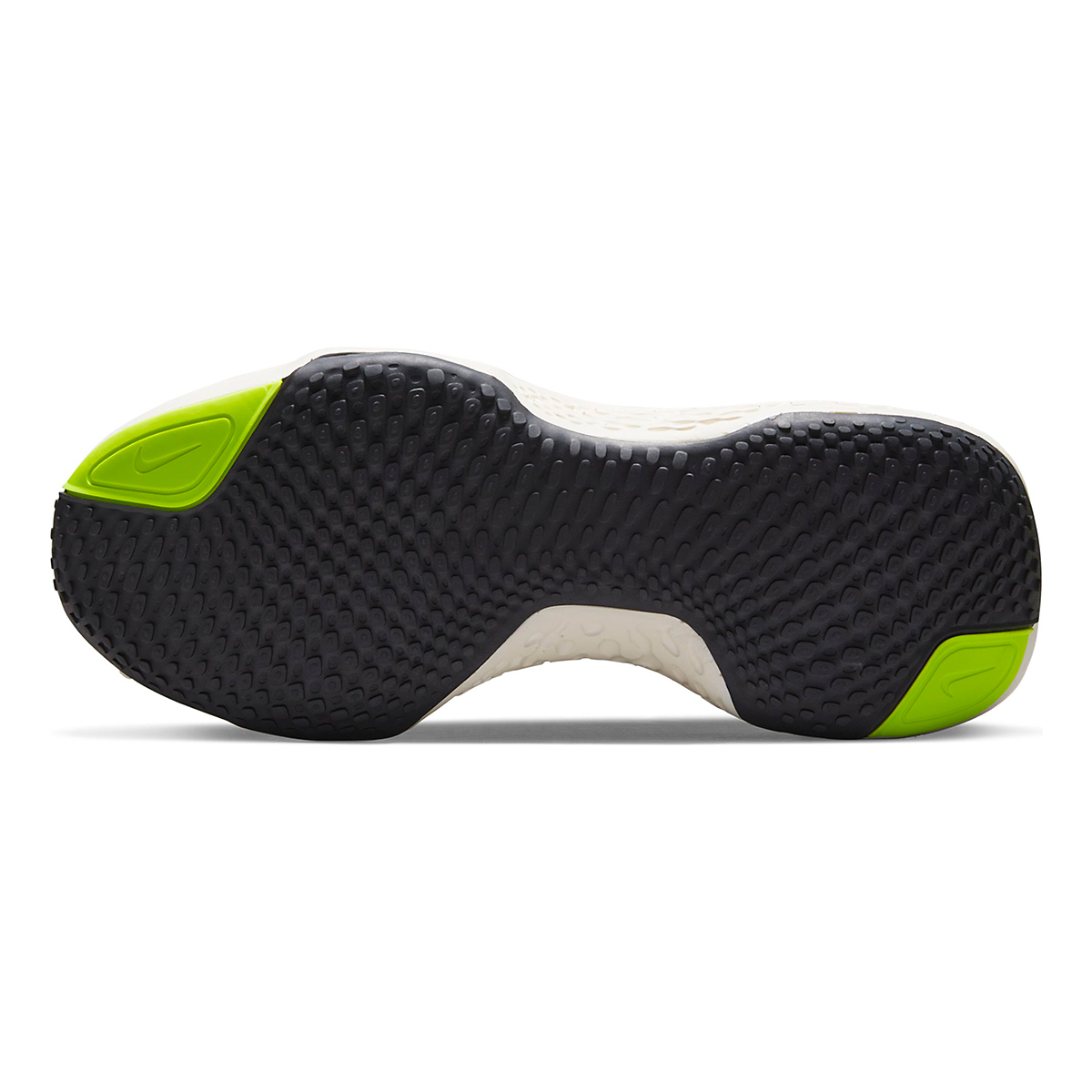 Men's Nike Zoomx Invincible Run FlyKnit Running Shoe - Color: Volt/Black/Barely Volt - Size: 6 - Width: Regular, Volt/Black/Barely Volt, large, image 6