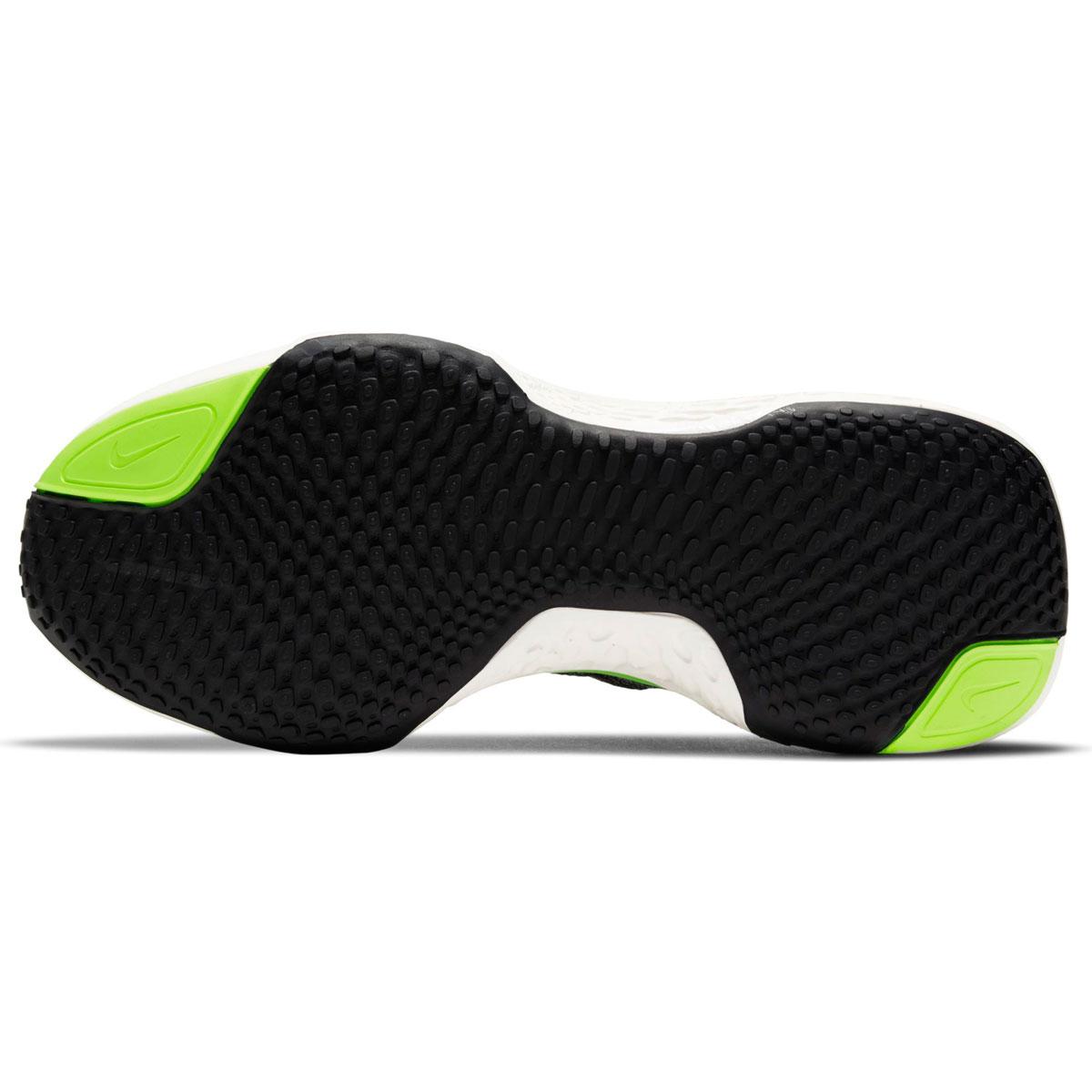 Women's Nike Zoomx Invincible Run FlyKnit Running Shoe - Color: Black/Cyber/Elemental Pink - Size: 6 - Width: Regular, Black/Cyber/Elemental Pink, large, image 6