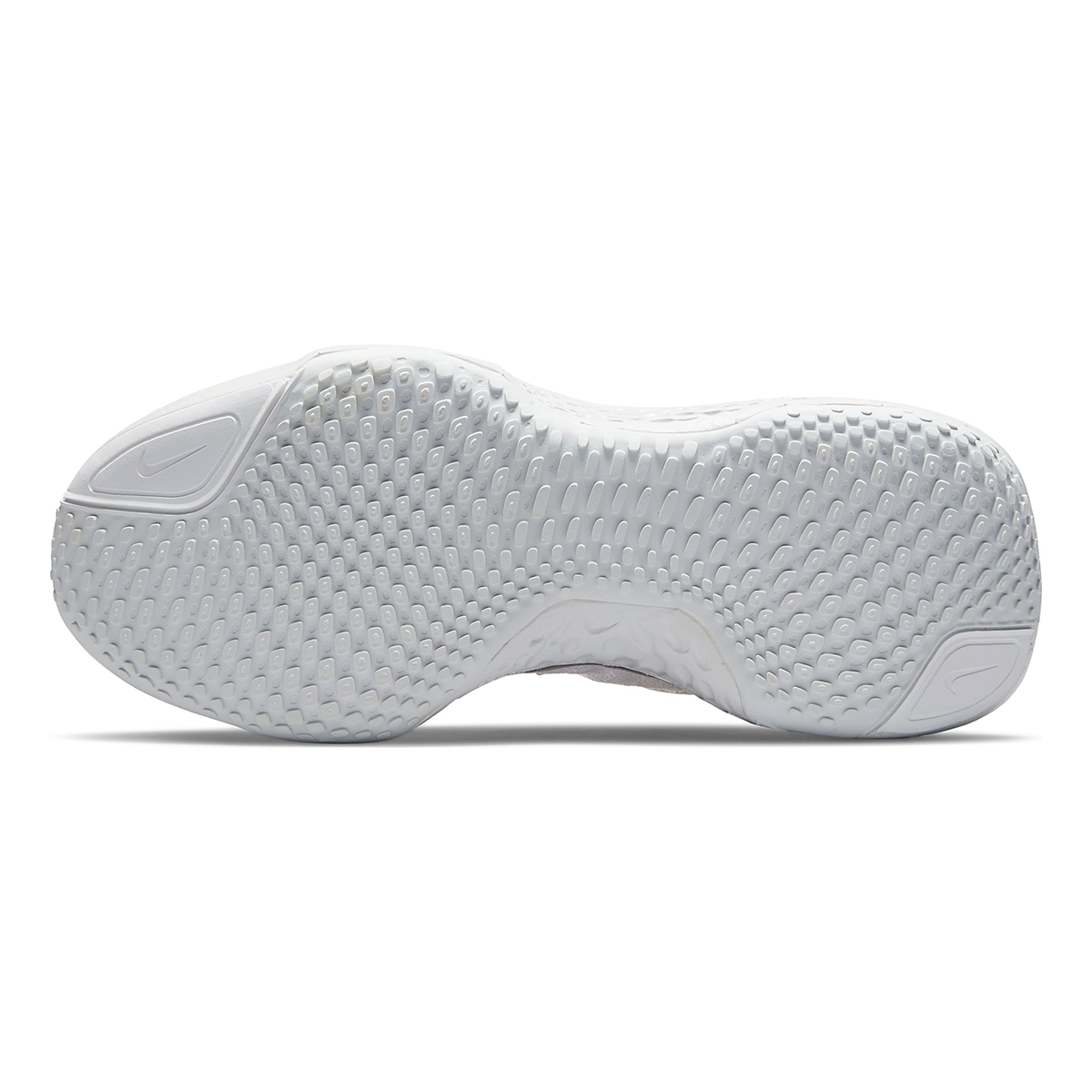 Women's Nike ZoomX Invincible Run Flyknit - Color: White/Metallic Silver/Pure Platinum - Size: 5 - Width: Regular, White/Metallic Silver/Pure Platinum, large, image 7